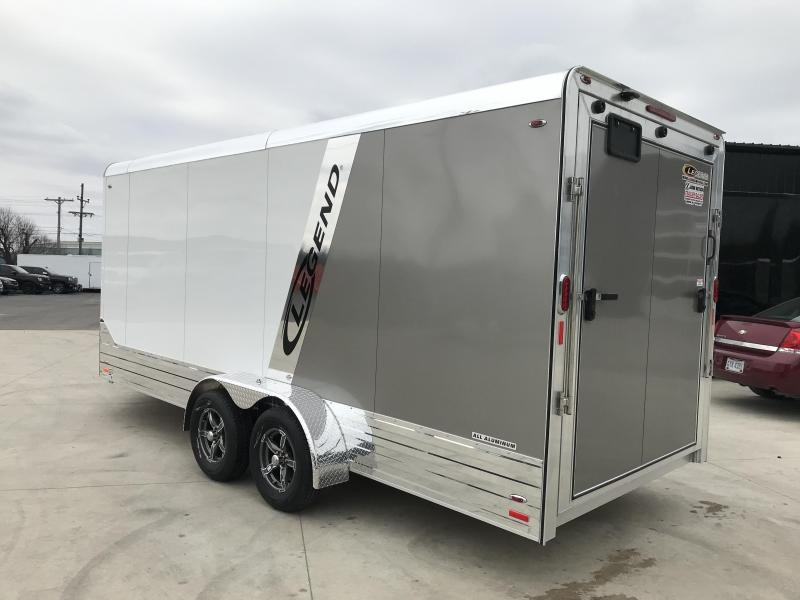 "2019 Legend DVN 7X21 Cargo Trailer 6"" Extra Height"