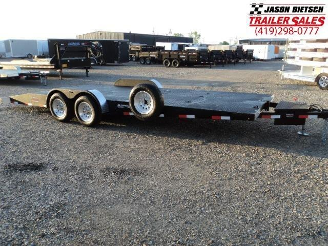 2019 Imperial 8.5X 23' Open Equipment/Car Trailer