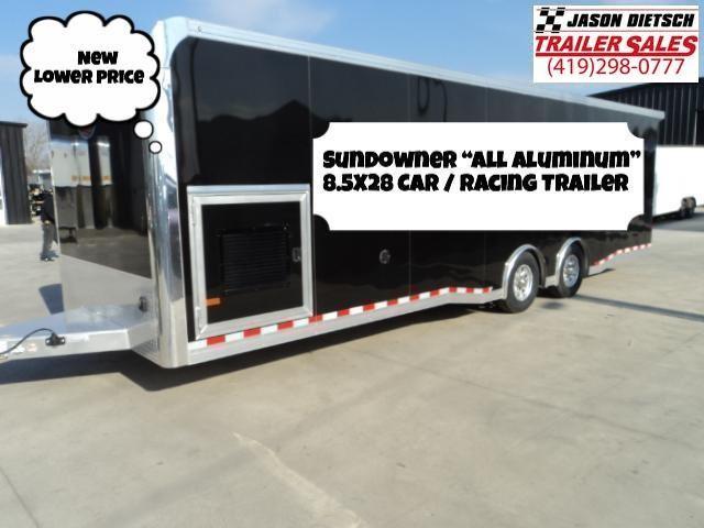 2019 Sundowner Trailers 8.5X28 Car / Racing Trailer...Save $3700