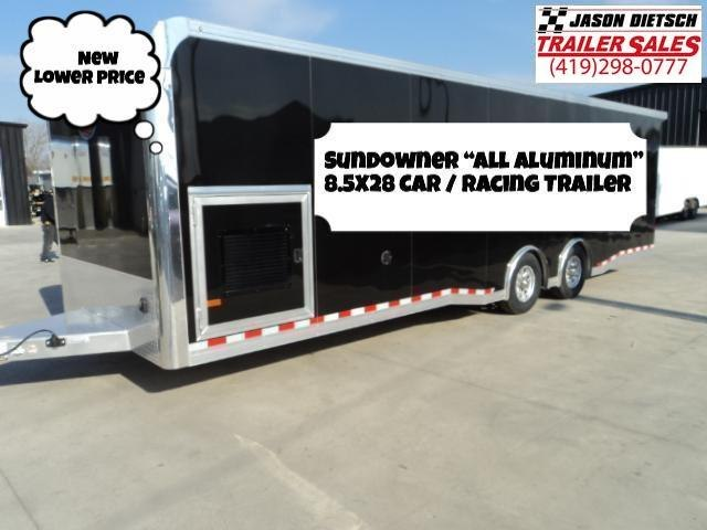 2019 Sundowner Trailers 8.5X28 Car / Racing Trailer...Save $3700