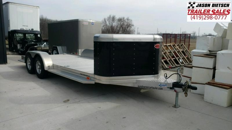 2019 Sundowner 6.9X20 Open Car Hauler LIKE NEW