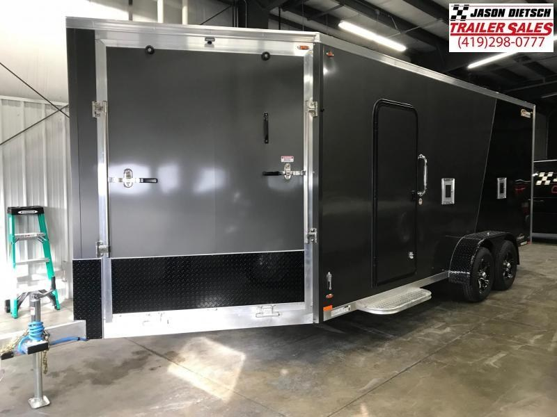 2019 Legend Explorer 7X23 Snowmobile/ATV Trailer
