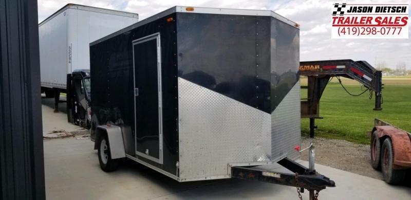 2014 sure trac 7X12 V-Nose Cargo Trailer