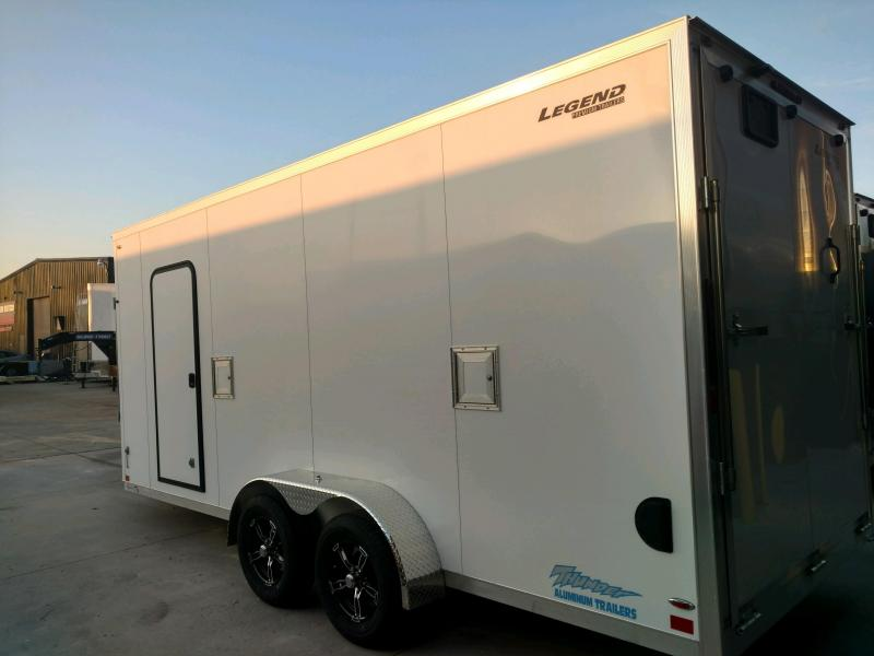 2020 Legend Thunder 7.5X23 Snowmobile/ATV Trailer Extra Height