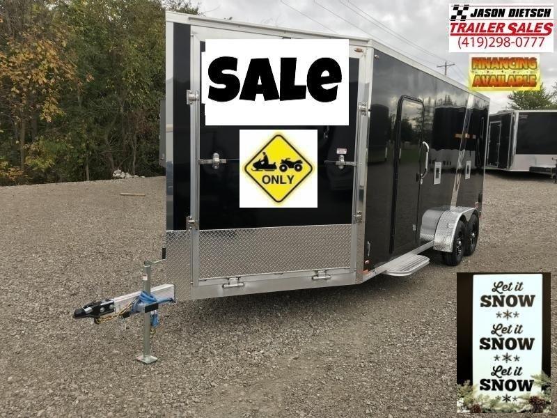 2019 Legend 7X23 Explorer Extra Height Snowmobile/ATV Trailer...# K1317336
