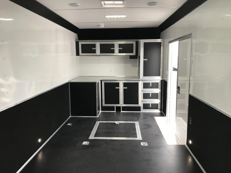 2019 United 8.5X32 Car/Racing Hauler Extra Height