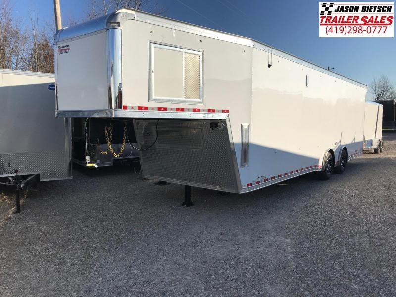 2019 United Trailers USHGN 8.5X36 Car / Racing Trailer STOCK# UN-165430