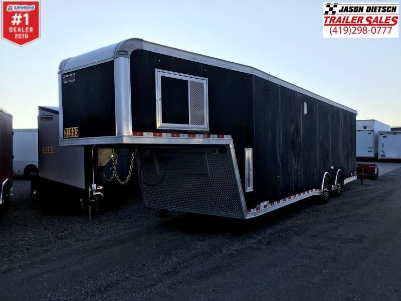 "2019 United 8.5X36 Car/Race Trailer 12"" Extra Height"