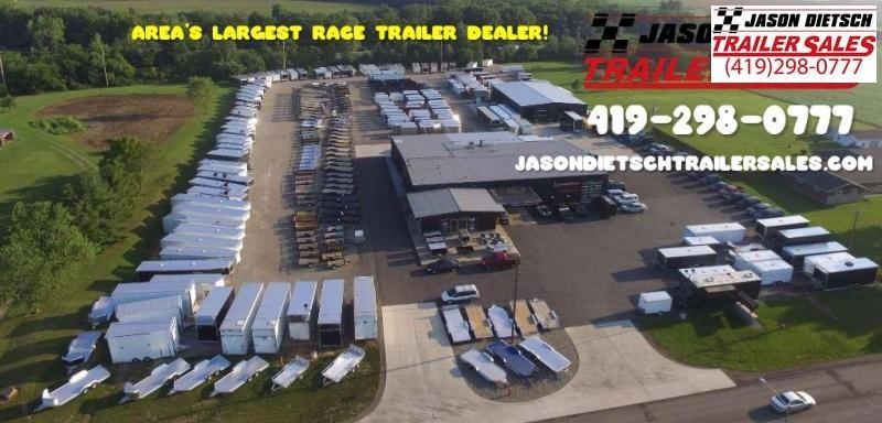 2019 United 8.5X36 Car/Racing Trailer...# 165431