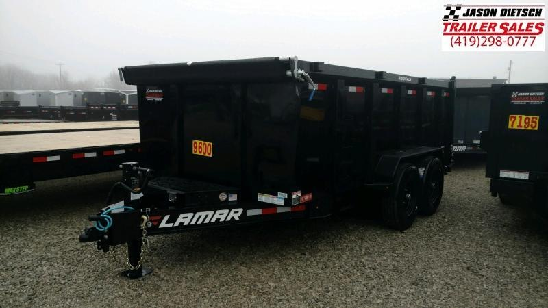 2020 Lamar Trailers 83X14 Low Pro Dump Trailer 14K....STOCK# LM-088489