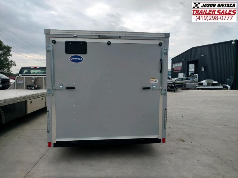 2020 United Trailers XLV 7x16 V-Nose Enclosed Cargo Trailer....Stock# UN-170216