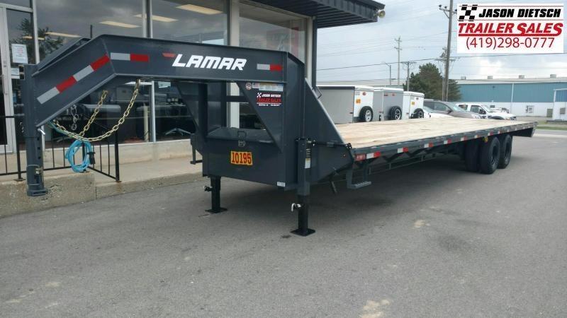 2020 Lamar 102X32 Extreme Duty Gooseneck Equipment Trailer