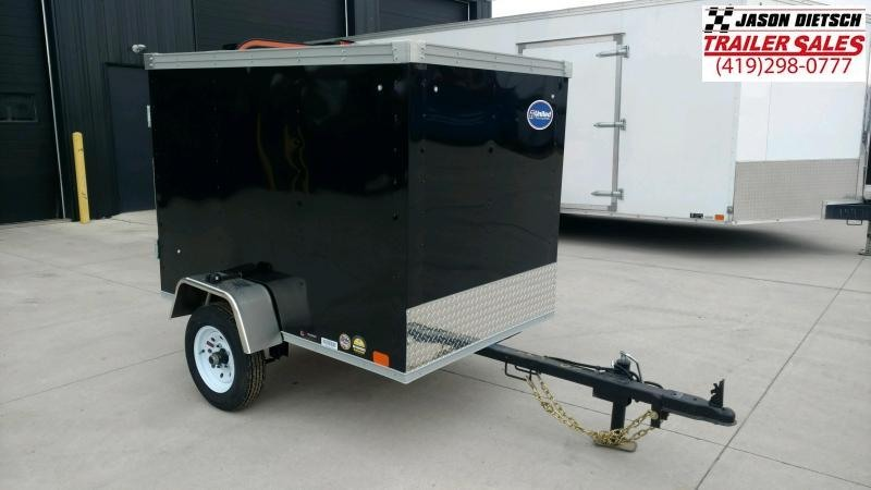 2020 United Trailers XLE 4X6 Enclosed Cargo Trailer....STOCK# UN-172408
