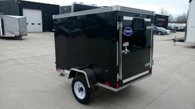 2020 United Trailers XLE 4X6 Enclosed Cargo Trailer....STOCK# UN-172408