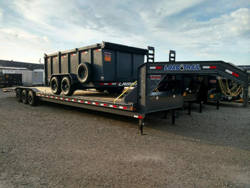 "2019 Load Trail 102"" X 40' Triple Gooseneck Carhauler Car / Racing Trailer...#190451"