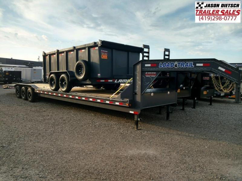 """2019 Load Trail 102"""" X 40' Triple Gooseneck Carhauler Car / Racing Trailer"""