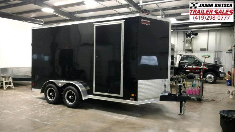 2020 Darkhorse 7x14 V-Nose Cargo Trailer Extra Height