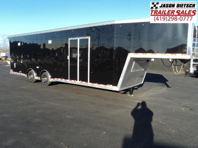 2017 United USHGN 8.5x36 Super Hauler Gooseneck Race Trailer Extra Height....Stock# UN-150740
