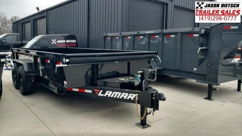 2020 Lamar Trailers 83X16 LOW PRO Dump Trailer....STOCK# LM-087608