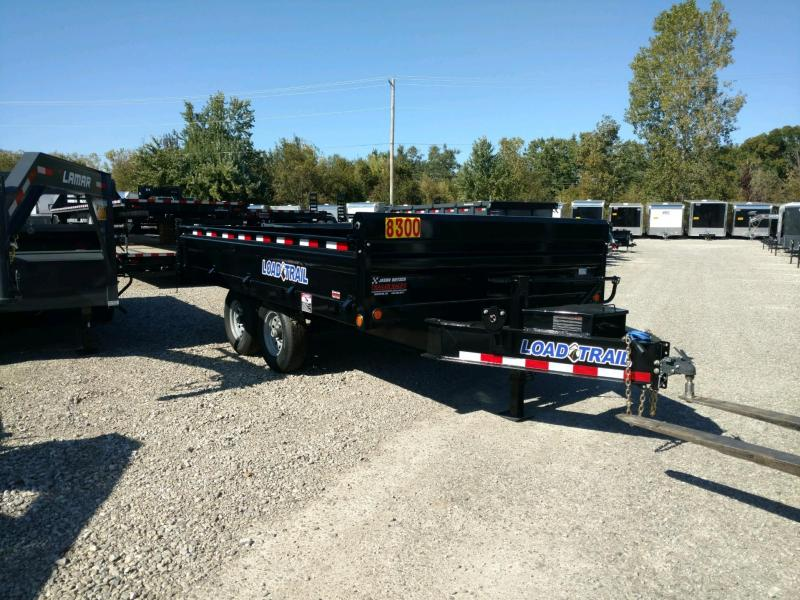 "2019 Load Trail 96"" X 14' Tandem Axle  Deck Over Dump Dump Trailer"