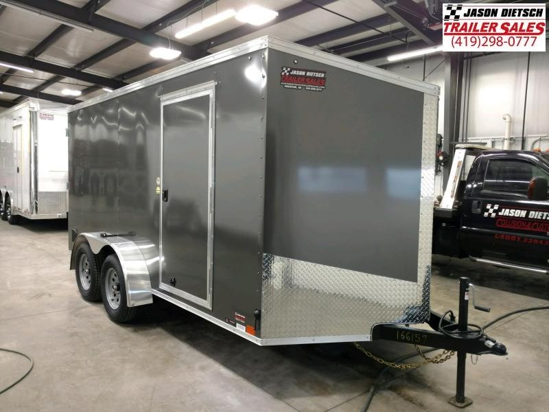 2020 United XLV 7x14 Slant/V-Nose Cargo Trailer