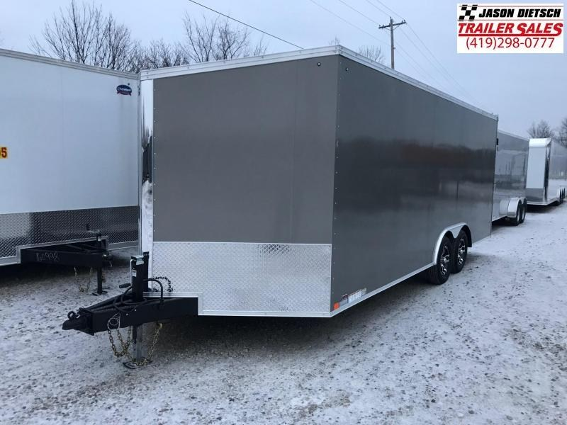 2019 United Trailers XLTV 8.5x19 Wedge-Nose Enclosed Car Hauler....Stock # UN-166630