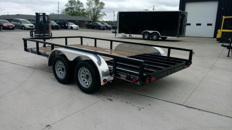 2020 Load Trail 83x14 Equipment Trailer