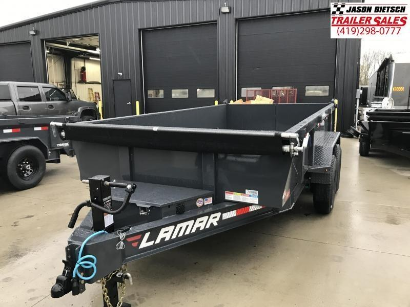 2019 Lamar Trailers 83X14 LOW PRO Dump Trailer....STOCK# LM-081799
