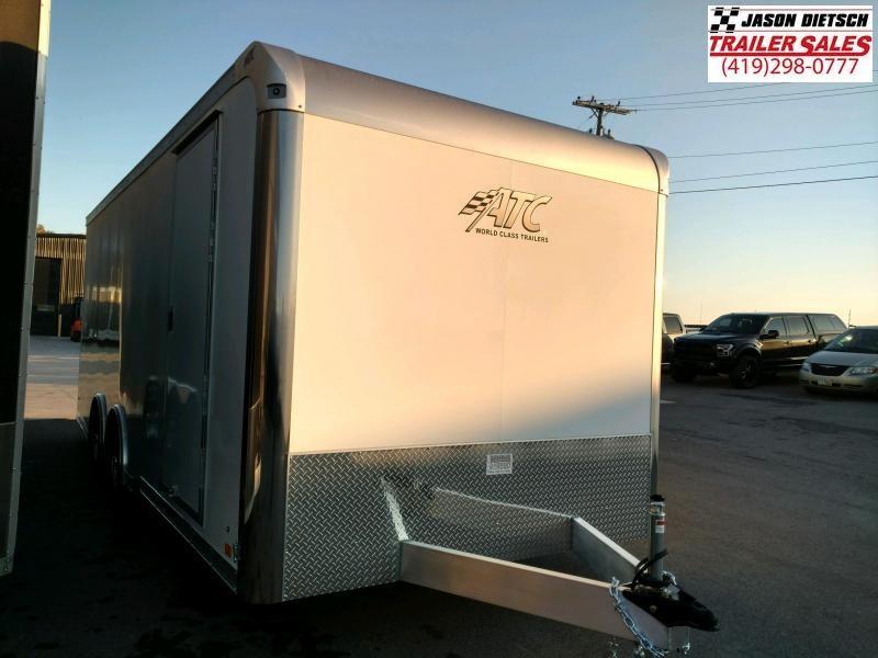 2020 ATC All Aluminum 8.5X20 Enclosed Car/Race Trailer