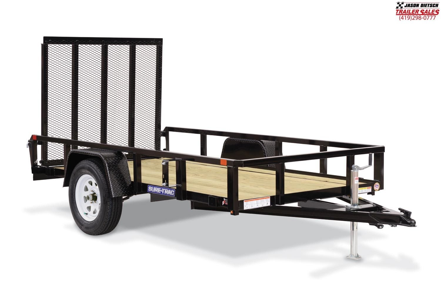 2020 Sure-Trac 3K 7X14 Tube Top Utility Trailer