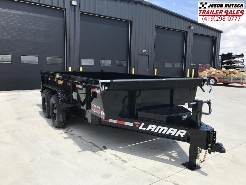 2020 Lamar Trailers 83X14 Dump Trailer....STOCK# LM-083837
