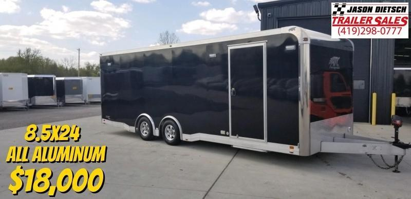 2016 ATC All Aluminum 8.5X24 Car/Race 305 Package Trailer Extra Height