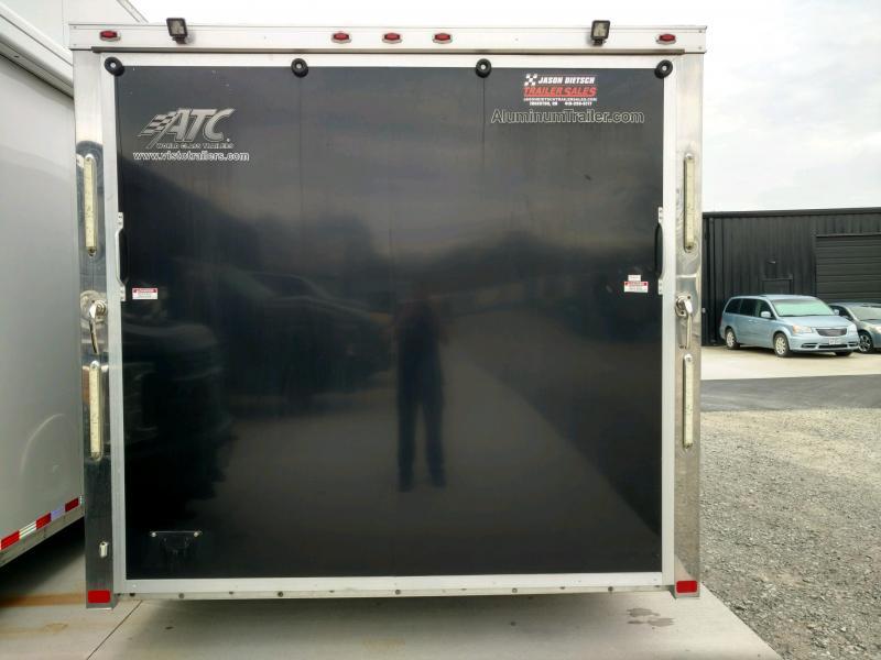2014 ATC All Aluminum 8.5X24 Car/Race Trailer Extra Height