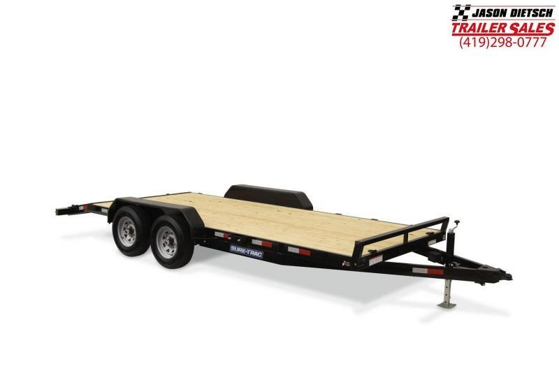 2019 Sure-Trac 7X18 Open Car Trailer