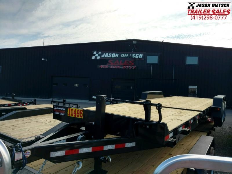 2020 Behnke 16K 83X20 Tilt Equipment Trailer