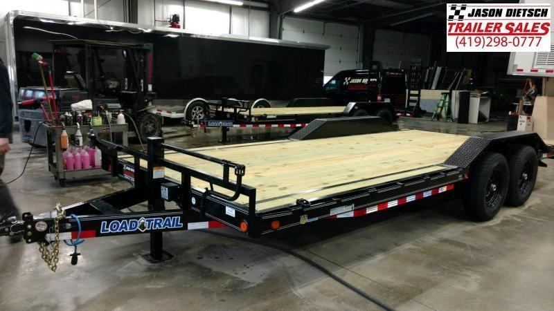 2019 Load Trail 102X20 Open Equipment/Car Trailer