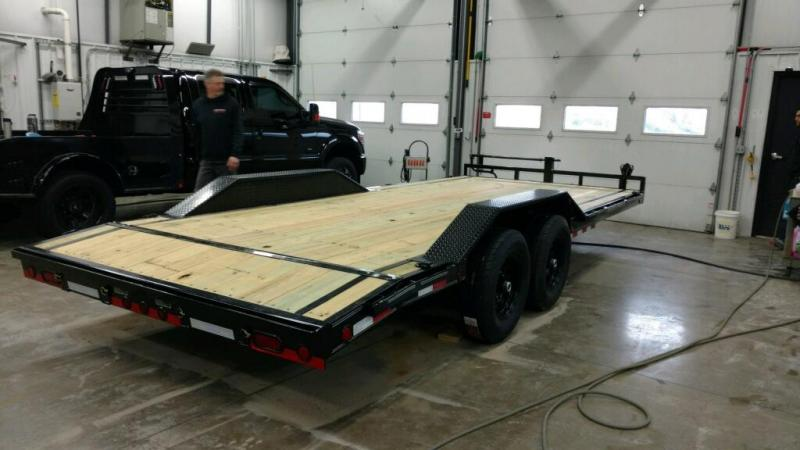 2019 Load Trail 102X20 Open Equipment/Car Trailer