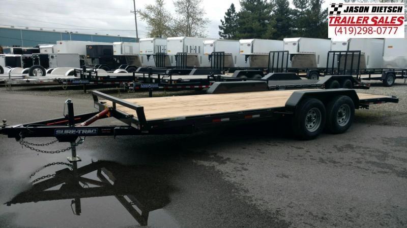 2020 Sure-Trac 7x20 Tilt Bed Open Car Hauler 10k