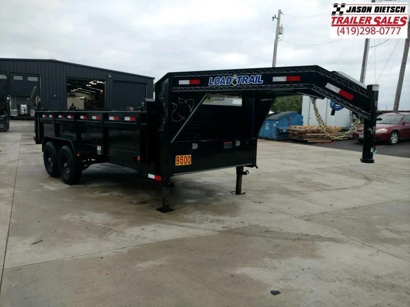 2019 Load Trail 96X16 Tandem Axle GOOSENECK Dump Trailer....STOCK# LT-187070