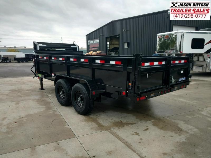 2020 Load Trail 83X16 Tandem Axle GOOSENECK Dump Trailer....STOCK# LT-194613