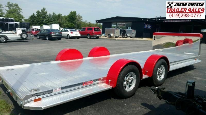 2020 Sundowner Ultra 6.9X22 Open Car Hauler