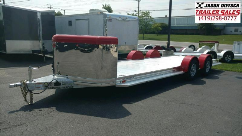2020 Sundowner 6.9X22 Sunlite **Ultra Series**OPEN Car Trailer.... STOCK# SD-FA7999