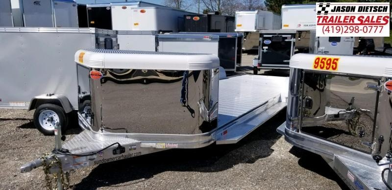 2020 Sundowner Ultra 6.9X24 Open Car Hauler