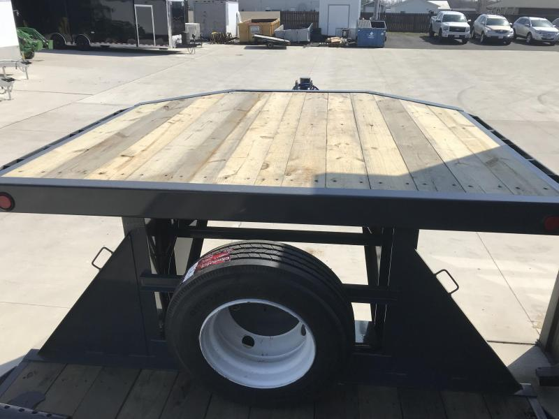 2018 Load Trail 102x28 Equipment Trailer