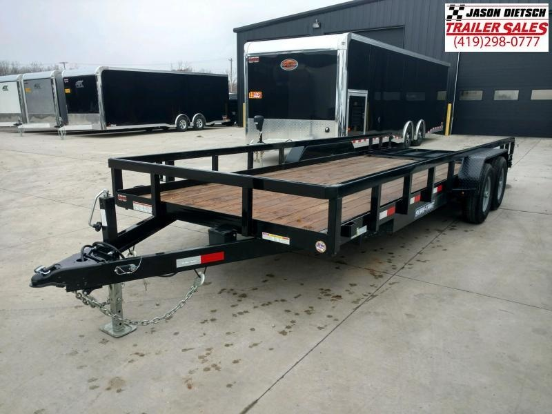 2019 Sure-Trac 7X18 Tube Top Utility....STOCK# ST-3500