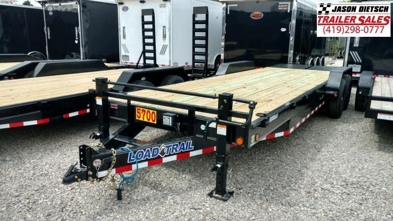2020 Load Trail 83X24 Open Equipment/Car Trailer