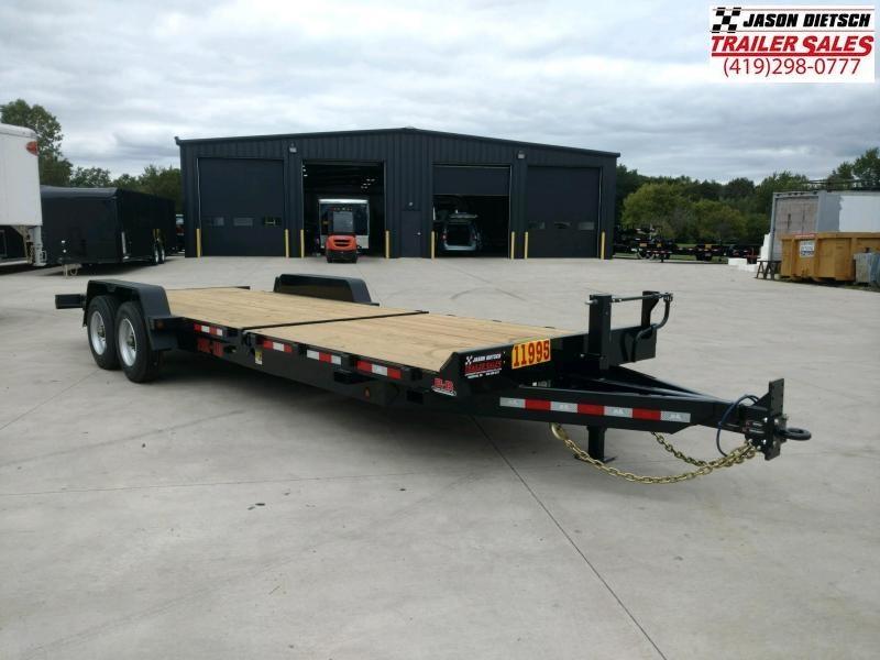 2020 Behnke 20K 83X24 Tilt Equipment Trailer