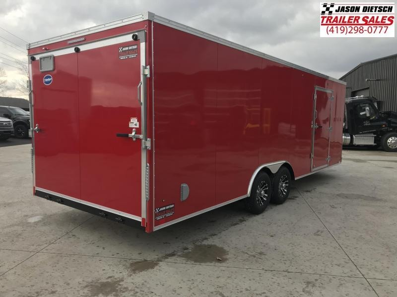 2019 UNITED XLTV 8.5X27 Car/Racing Trailer...# 164712