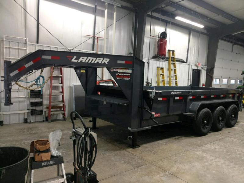 2020 Lamar Trailers 83X16 Dump Trailer...# LM-085116