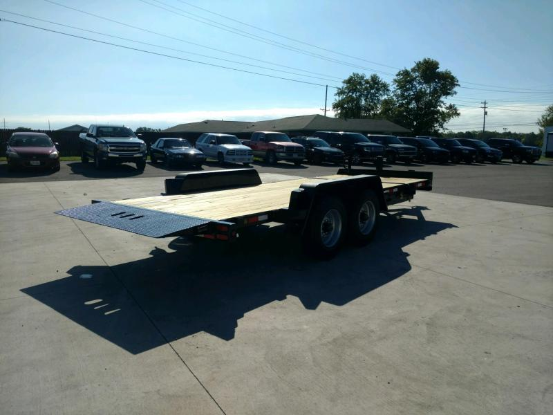 2020 Behnke 20K  83X20 Tilt Equipment Trailer